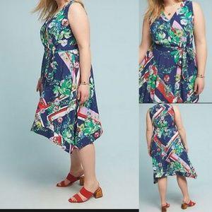 NWT Anthropologie Maeve Spirited Midi Dress 26W